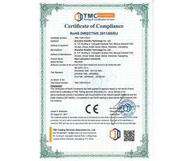 RoHS Certificate - Ice Cool Hair Removal - TMC181224115-C
